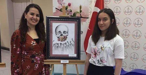 Karikatürde Türkiye üçüncüsü oldu!