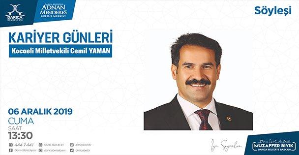 Kariyer Günleri'nin konuğu Cemil Yaman