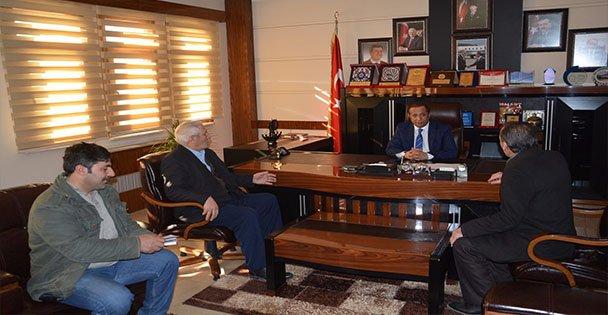 Karslılardan Başkan Toltar'a Ziyaret!