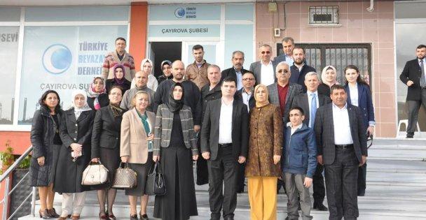 """Katırcıoğlu, Beyazay"""" Derneğini unutmadı"""