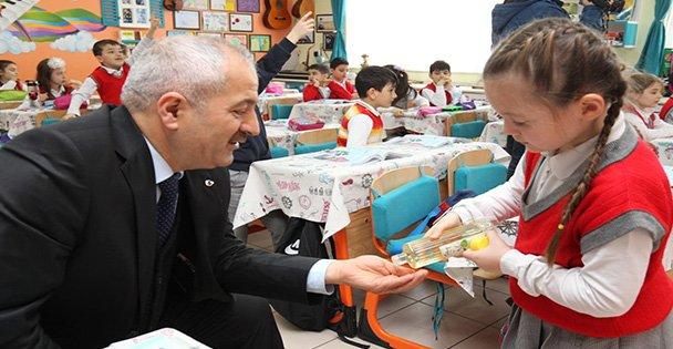 Kaymakam Güler ve Başkan Büyükgöz okul ziyaretlerinde