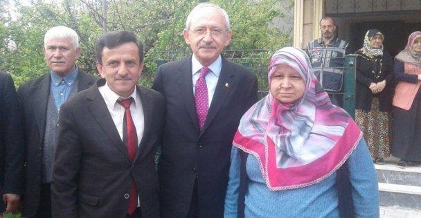 Kılıçdaroğlu, şehit ailelerini ziyaret etti