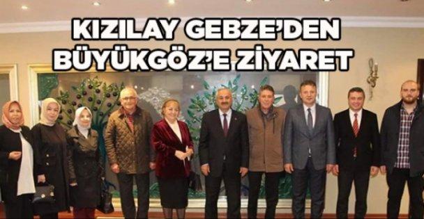 Kızılay Gebze'den Büyükgöz'e ziyaret