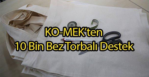 KO-MEK'ten 10 Bin Bez Torba