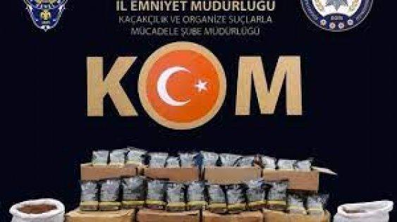 Kocaeli merkezli 4 ilde tütün kaçakçılığı operasyonu: 20 gözaltı