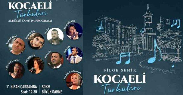 Kocaeli Türküleri albüm oldu