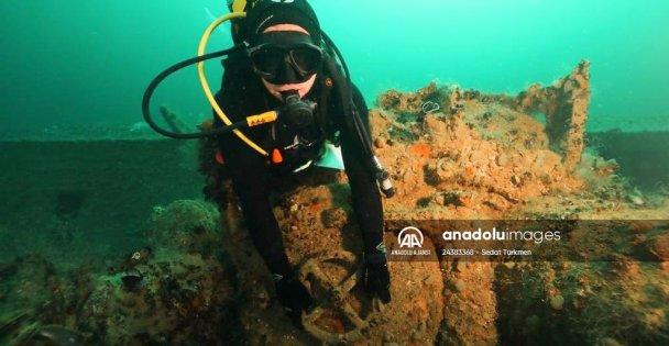 Kocaeli'de 2. Dünya Savaşı'ndan kalma Alman denizaltısı bu yıl dalış turizmine kazandırılacak