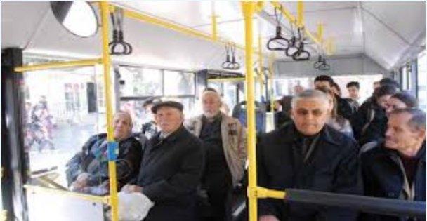 Kocaeli'de 65 yaş ve üstündeki vatandaşlara toplu taşıma uyarısı