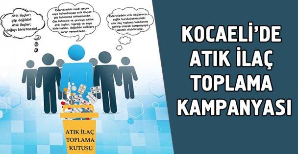 Kocaeli'de Atık İlaç Toplama kampanyası