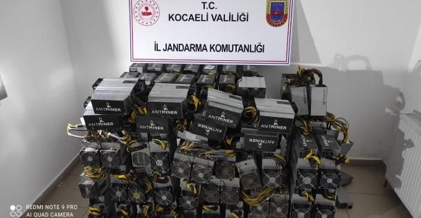 Kocaeli'de çalınan 600 bin lira değerindeki 'Bitcoin mining' cihazlarını JASAT dedektifleri buldu