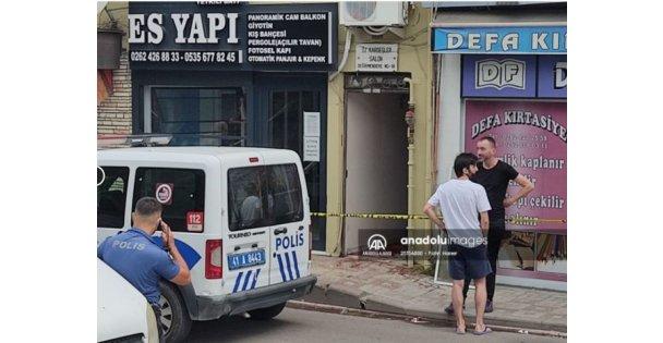 Kocaeli'de çıkan silahlı kavgada bir kişi yaralandı