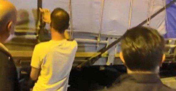 Kocaeli'de durdurulan tırda 112 düzensiz göçmen yakalandı