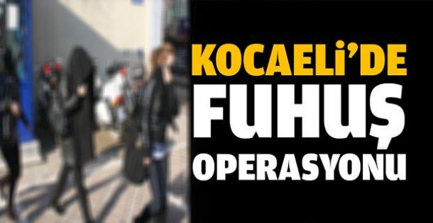 Kocaeli'de fuhuş operasyonu