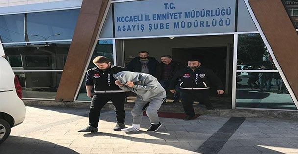 Kocaeli'de hırsızlık zanlısı çift yakalandı