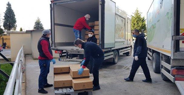 Kocaeli'de sağlık çalışanlarına kahvaltı ikramı