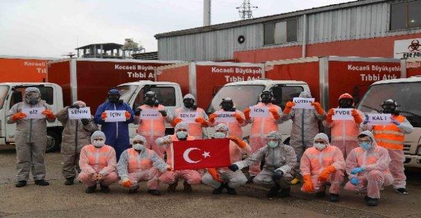 Kocaeli'de tıbbi atık bertarafı ve cenaze hizmetlerinde koronavirüs tedbirleri