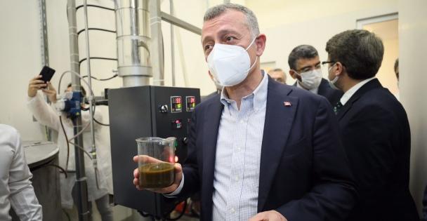 Kocaeli'de tıbbi ve aromatik bitkilerin yağı 'süperkritik akışkan teknoloji' ile işlenecek