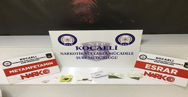 Kocaeli'de uyuşturucu operasyonunda gözaltına alınan 16 şüpheli tutuklandı