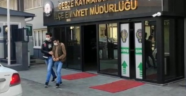 Kocaeli'de yankesicilik iddiasıyla gözaltına alınan 2 şüpheliden biri tutuklandı