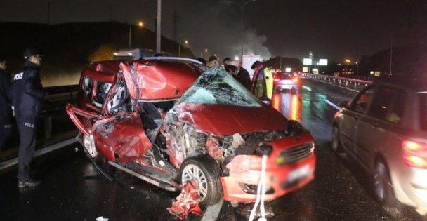 Kocaeli'deki trafik kazalarında 5 kişi yaralandı