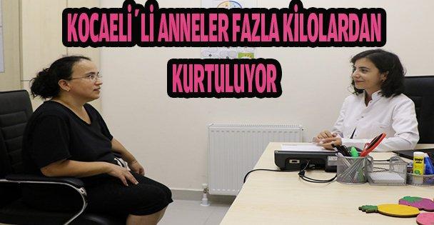 KOCAELİ'Lİ ANNELER FAZLA KİLOLARDAN KURTULUYOR