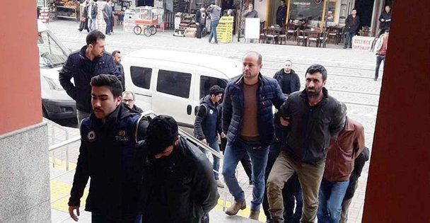 Terör propagandasında 7 tutuklu