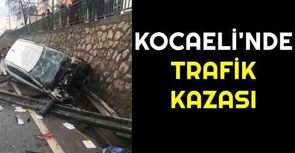 Kocaelinde trafik kazası: 3 yaralı