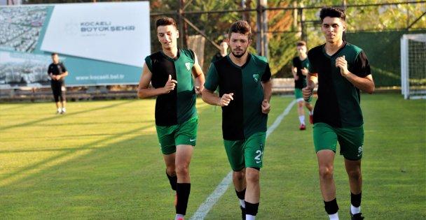 Kocaelispor U19 ligine hazırlanıyor