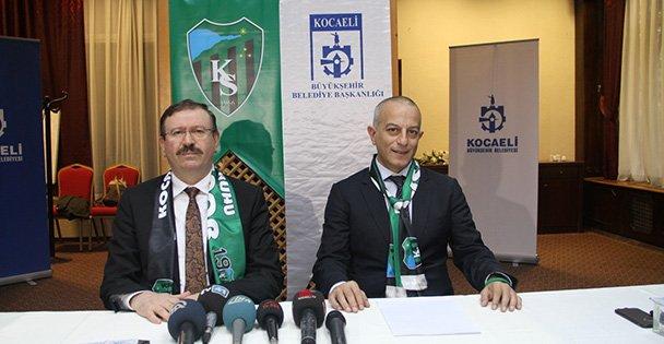 Kocaelispor'un kamu borçları sıfırlandı