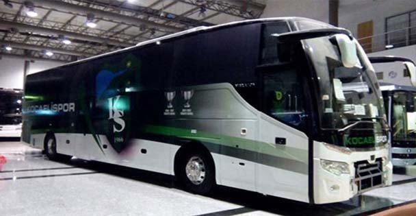 Kocaelispor'un Yeni Takım Otobüsü