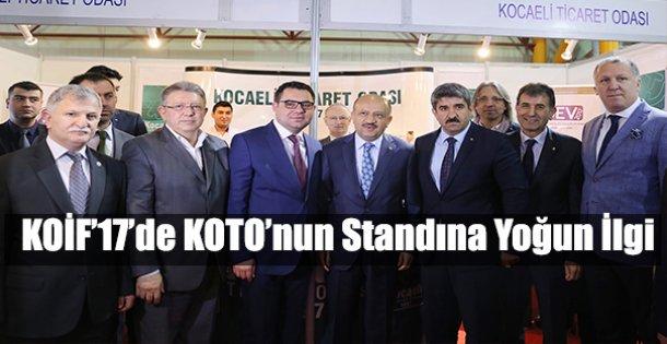 KOİF'17'de KOTO'nun standına yoğun ilgi