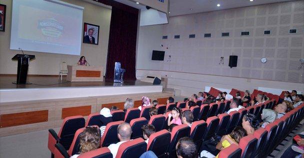 Konservatuar yetenek sınavı öncesi katılımcılar ve yakınları bilgilendirildi