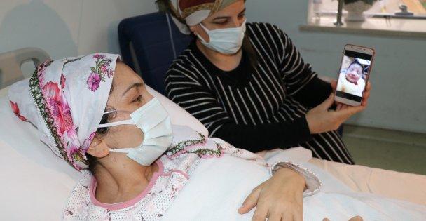 Koronavirüsü yenen anne bebeğine kavuşmayı bekliyor