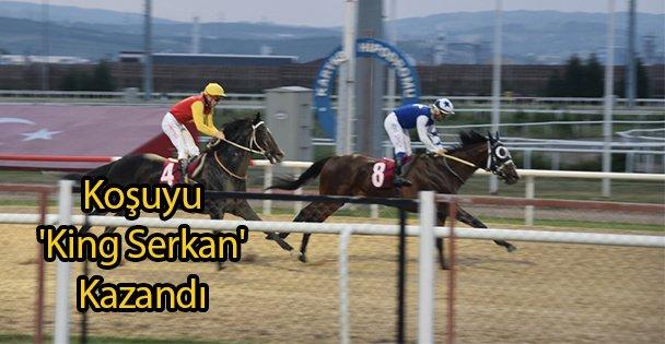 Koşuyu 'King Serkan' Kazandı