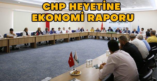 KOTO'dan CHP heyetine kapsamlı 'ekonomi' raporu