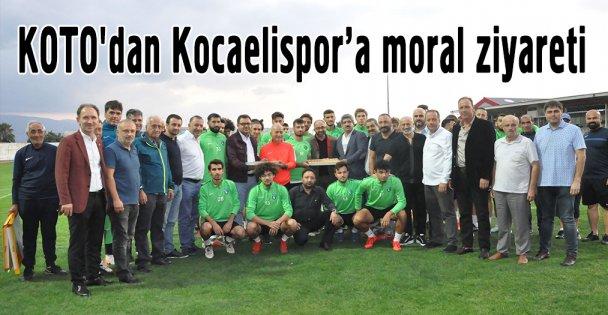 KOTO'dan Kocaelispor'a moral ziyareti