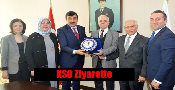 KSO Gaziantep Sanayi Odasına Ziyaret !