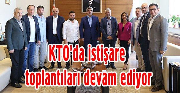 KTO'da istişare toplantıları devam ediyor
