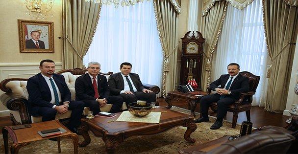 Kuzey Makedonyalı Bakan Hasan'dan Kocaeli Valiliğine ziyaret