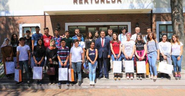 Mardinli öğrenciler misafirimiz oldu