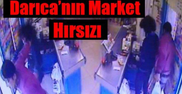 Market Hırsızı Yakalandı !