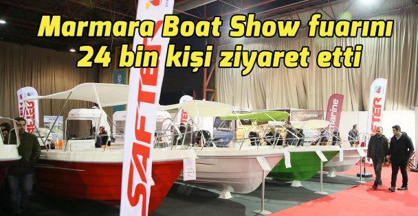 Marmara Boat Show fuarını 24 bin kişi ziyaret etti