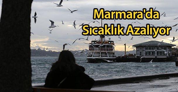 Marmara'da Sıcaklık Azalıyor