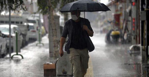 Marmara'nın Doğusunda Beklenen Yerel Kuvvetli Sağanak Yağışlara Dikkat!