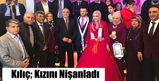 Mehmet Kılıç Kızını Nişanladı!