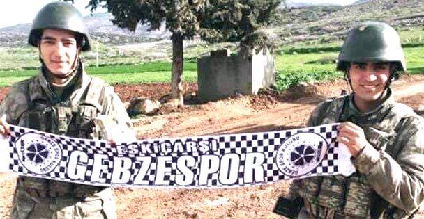 Mehmetçik'ten Gebze'ye selam