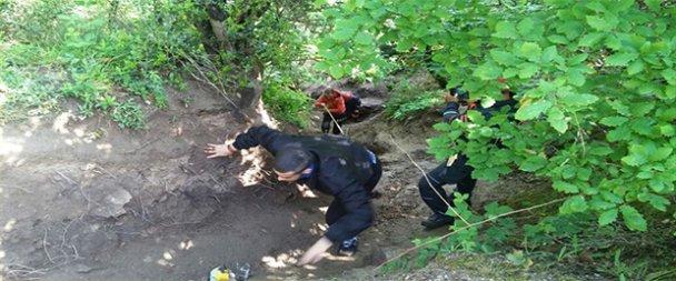 Mesire alanında kaybolan gençleri AFAD buldu