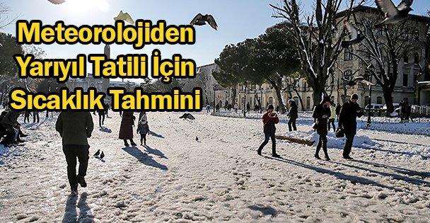 Marmara Yarıyıl'da Sıcak Olacak
