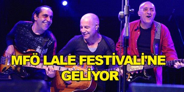 MFÖ Lale Festivaline geliyor