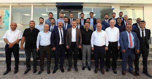 MHP Darıca ilçe yönetimini ziyaret etti